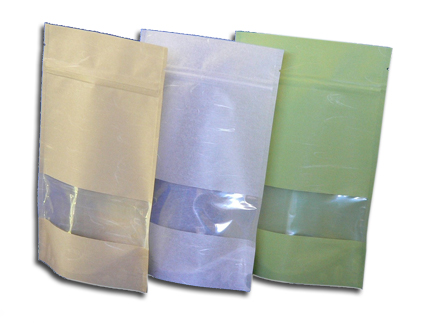 Stand Up  Rice Paper Pouches