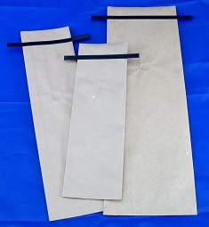 Kraft Side Gusseted Bags w/ Valve & TinTie